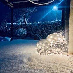 Terasos šviestuvas, 40 cm skersmens