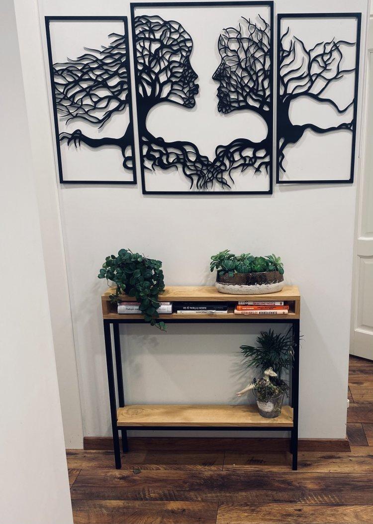 Prieškambario lentyna augalams laikyti